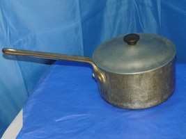Wear Ever No. 4107 Aluminum 2.5 Qt PAN- W/NATIONAL Sanitation Foundation Stamp - $54.45