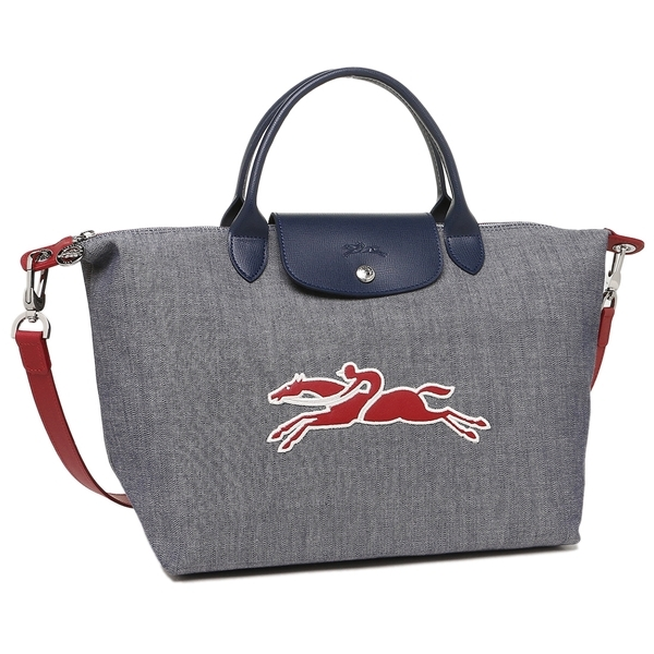 145fef1430f81 Lc 1515 636 006 1. Lc 1515 636 006 1. Authentic Longchamp Le Pliage On The  Road Canvas Leather Tote Medium Size