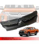 Black Front Grille Grill For Mitsubishi Triton L200 2019 2020 - $165.18