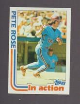 1982 Topps # 781 Pete Rose NEAR MINT - $0.99