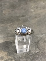 Sz 9.25, Vintage Sterling Silver Turquoise Ring, 925 Navajo - $499,54 MXN