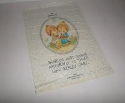 Betsey Clark Vintage Hallmark Store Shopping Paper Bag Indiana 1981 RARE - $11.88