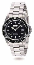 Invicta-Men-039-s-Pro-Diver-Automatic-200m-Black-Dial-Stainless-Steel-Watch-892 - $105.00
