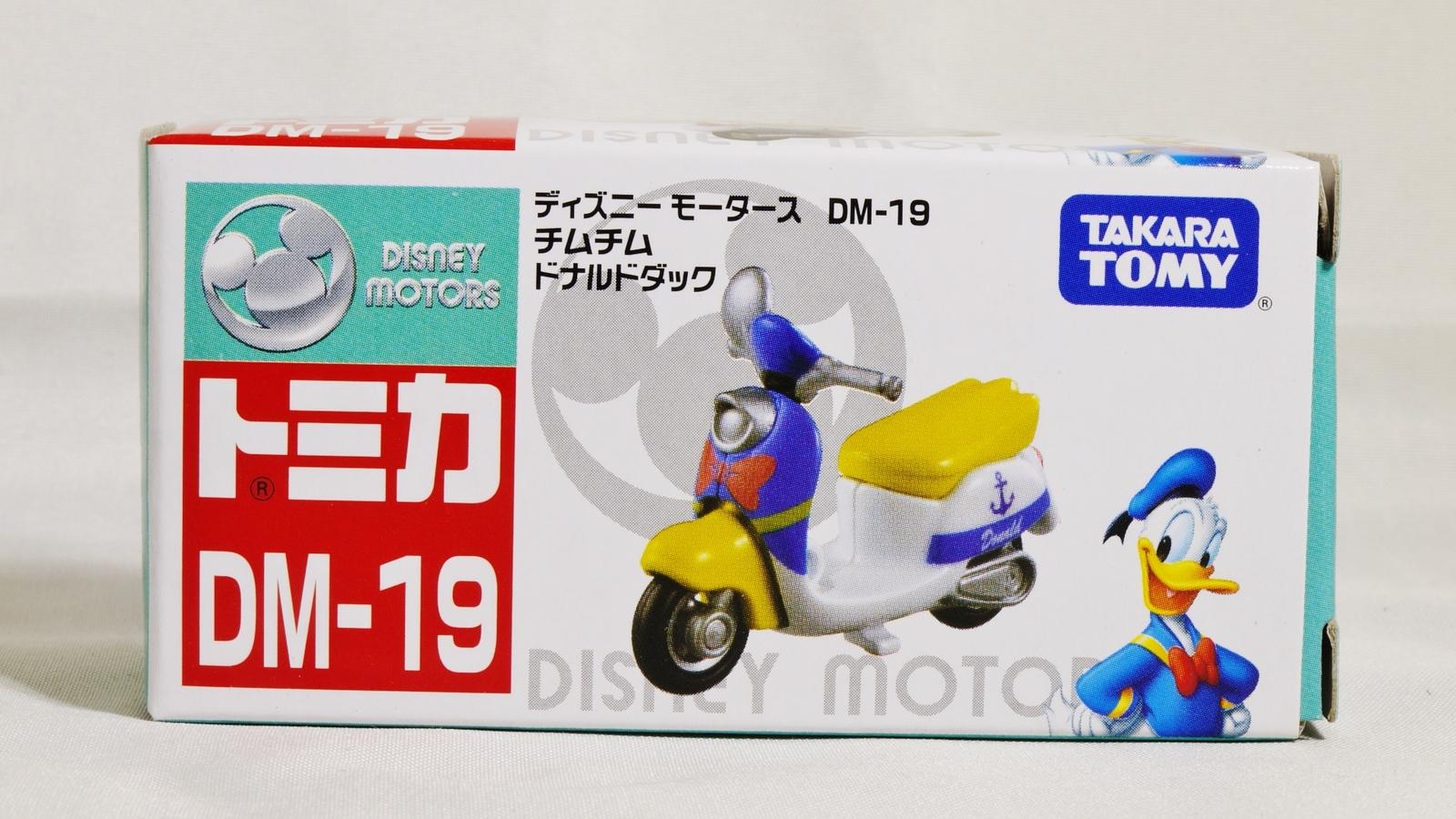TAKARA TOMY TOMICA Disney Motors Classic Donald Duck DM-19 Custom Diecast