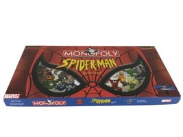 Monopoly Marvel Spider-Man Collector's Edition 2002 New Contents All Sealed - $64.30