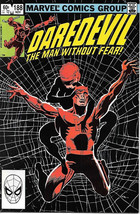 Daredevil Comic Book #188 Marvel Comics 1982 NEAR MINT+ - $13.54