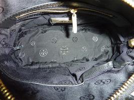NWT Tory Burch Black Saffiano Mini Robinson Stitched Dome Cross Body Bag  - $425 image 11