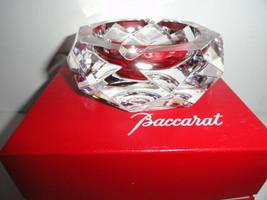 "Baccarat Camel crystal ashtray 4"" diameter - $325.00"