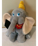 "Walt Disney World Dumbo Elephant 9"" Plush Beanbag Toy Beanie Official WD... - $13.99"
