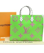 Louis Vuitton ONTHEGO Tote Giant Pink Monogram bag 2019 ON THE GO M44570... - $4,544.10