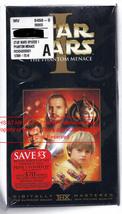 Star Wars Phantom Menace Movie NEW SEALED Vintage VHS Movie - $19.99