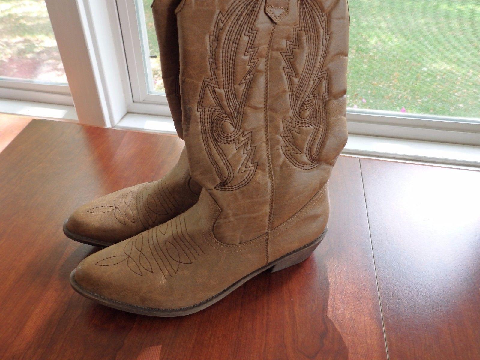 bb3b1b42038 Coconuts-Gaucho-Cowboy-Boots-SIZE-8.5 M and 50 similar items