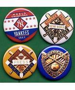1941 1942 N.Y. Yankees World Series World Series W/S PRESS Patch *PINs* - $16.78