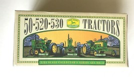 50-520-530 JOHN DEERE TRACTORS 1/64 scale coll.set No.2 factory sealed 1996 Ertl - $29.69