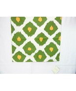 Pottery Barn Ikat Printed Yellow Green 20-inch Square Pillow Cover - $34.00