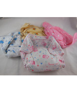 Flannel Washable DIAPER for newborn baby no hook and loop - $13.85