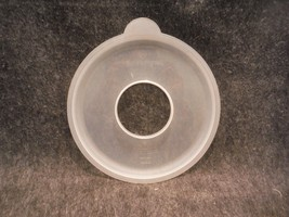 Tupperware 3583 Sheer  9 1/2 Inch Round Seal for Mix N Store 12 Cup Batter Bowl - $9.99