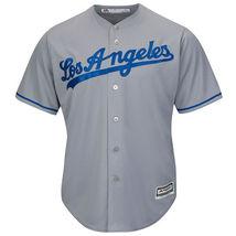 Men's Los Angeles Dodgers Clayton Kershaw Majestic Gray Road Cool Base J... - $43.99