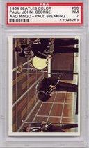 1964 Beatles Color - Paul, John, George and Ringo - Paul Speaking #36 PSA 7 - $15.99