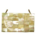 Vintage Evans Mother of Pearl Compact Purse - £93.32 GBP