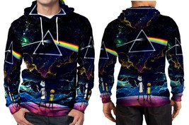 Pink floyd and rick morty hoodie fullprint men thumb200