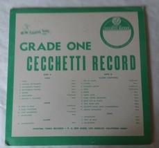 """12"""" Vinyl Record Stepping Tones Grade One Cecchetti Record - $7.71"""