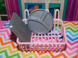 My Life Dish Rack Dishes Accessories Lot fits Our Generation American Girl Dolls - $8.90