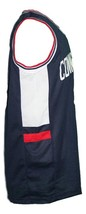 Daniel Hamilton #32 College Basketball Jersey Sewn Navy Blue Any Size image 3