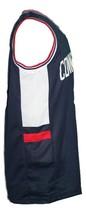 Daniel Hamilton #32 College Basketball Jersey Sewn Navy Blue Any Size image 4
