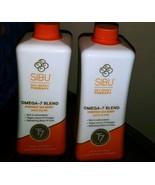 2 Bottles Sibu Beauty Omega-7 Blend  Everyday Sea Berry Juice Blend 50 o... - $37.61