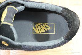 Vans Lindero (Wool) Black/Gold Skate Shoes MEN'S 7.5 WOMEN'S 9 image 7