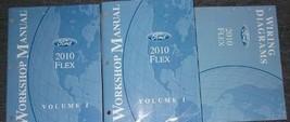 2010 Ford FLEX Service Shop Workshop Repair Manual Set W Wiring Diagram ... - $168.25