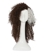 Cosplay Wigs Harry Potter Bellatrix Brown Style Fluffy Wavy Curly Women ... - $32.00