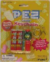 Pez Candy Lion Keychain New on Card - $6.80