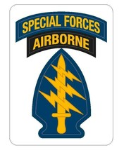 US Army Special Forces Airborne 12'' Sticker - $24.74