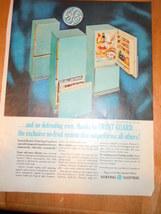 Vintage General Electric Frost Guard Refrigerator Print Magazine Advertisement 1 - $4.99