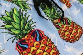 Boys Swim Trunks Summer Beachwear Hawaiian Long Pineapple Kids Board Shorts - L+ image 2