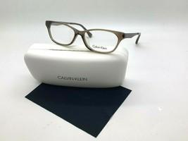 Calvin Klein CK5952A 041 Transparent Brown Eyeglasses Frames 53-14-140MM/CASE - $36.82