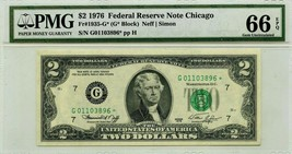 $2 DOLLARS 1976 STAR NOTE CHICAGO F 1935 G * LUCKY MONEY VALUE $350 - $315.00