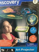 BRAND NEW Discovery Kids Walls and Ceiling Art Projector with 6 Markers  - $16.44