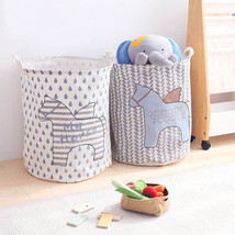 New Large Laundry Hamper Bag Clothes Storage Basket Collect Kids Toy Org... - $238,96 MXN