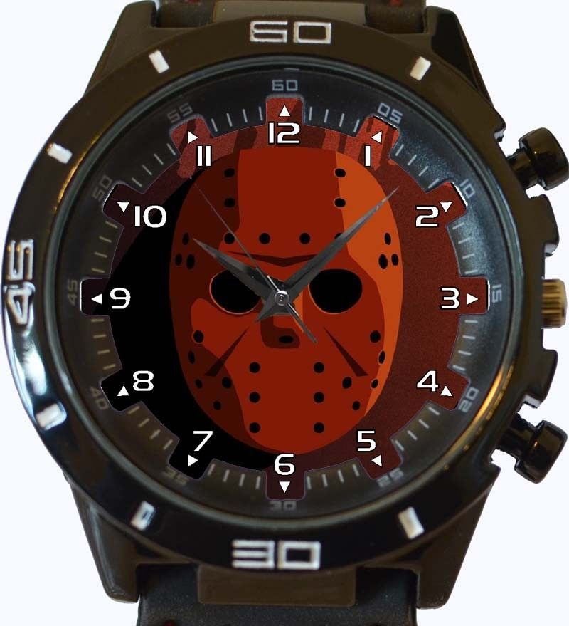 Primary image for Friday The 13th Jason Mask New Trendy Sports Series Unisex Gift Watch