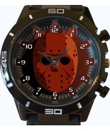Friday The 13th Jason Mask New Trendy Sports Series Unisex Gift Watch - £26.59 GBP