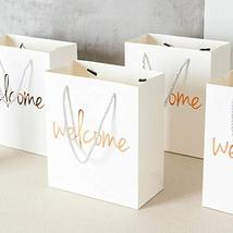 Crisky Welcome Bags Rose Gold Gift Bags for Wedding Hotel Guests, Birthday, Baby image 4