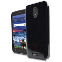 Black Crystal Skin Case TPU Cover for Alcatel Verso idealXCITE CameoX Ra... - $6.79