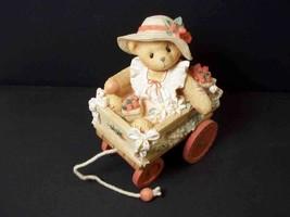 "Cherished Teddies figurine Diane ""Beary best for you"" 1996 Enesco with CoA - $5.86"