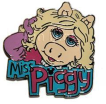 Rare Disney Pin 41184 Miss Piggy Muppets Pig Artist Proof LE Only 25 mad... - $98.95