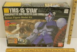 1999 Gundam GYAN Kit YMS-15 Mobile Suit 1/144 Robot Action Figure Bandai... - $21.49