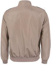 Men's Athletic Lightweight Water Resistant Slim Fit Racer Jacket image 4