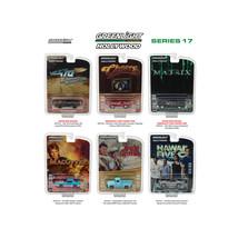 Hollywood Series / Release 17, 6pc Diecast Car Set 1/64 Diecast Model Ca... - $54.68